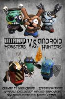 Dunnys Vs Androids group shot by zombiemonkie