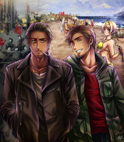 APH: Two sides of the country by Kay-I