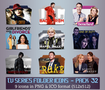 TV Series - Icon Pack 32 by apollojr