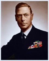 King George VI in 1943 by KraljAleksandar