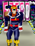 Captain Falcon F-Zero by teamspike1