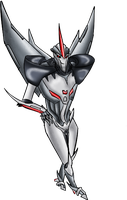 Starscream Prime by Mephilez