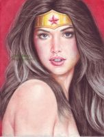 Wonder Woman (#9) by J.D. Felipe by VMIFerrari