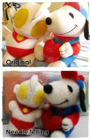 Snoopy x Ultraman by rarachan