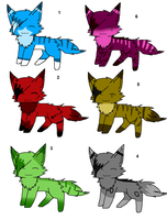 kitty adoptables 1 by Icey-adopts