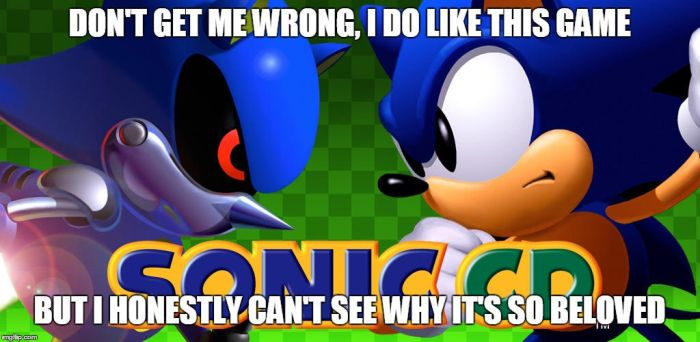 Sonic CD (Thoughts in a Nutshell) by gameman5804