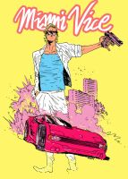 MIAMI VICE with Giannis by BrandNewNostalgia