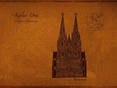 Cathedrals: Cologne by vladstudio