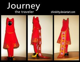 journey plush by Shirokitty