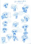 Bubbles Sketches by Porcubird