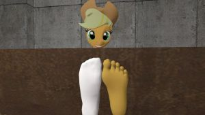 Applejack's Boots and Sock's Strip 4 by hectorlongshot