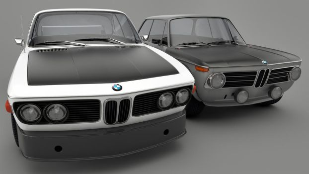70s BMWs by SamCurry
