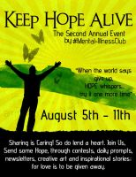 Keep Hope Alive - I by AMFdesigns