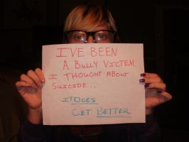 Bullying...it gets better by MistressoftheRoses