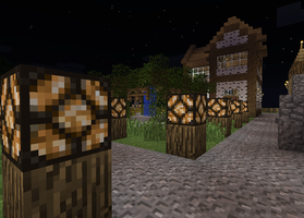 My Minecraft Village 2 by DPrime123