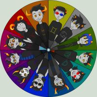 Wheel of Trolls by demonoflight