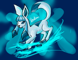 Glaceon by Veredian