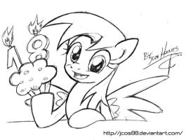 Happy Eighteen Muffins Years Old by JcosNeverExisted