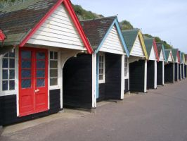 Beach Huts 132919 by StockProject1