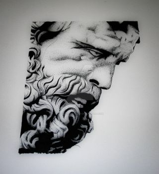 Statue of Heracles by all-day-everyday