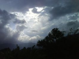 Rays over Tapah by mahata