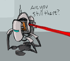 Portal Turret by qwerty1198