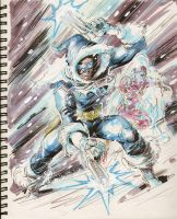 Sketch 14 : Captain Cold by Cinar