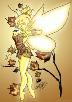 Autumn Tinkerbell by LicieOIC