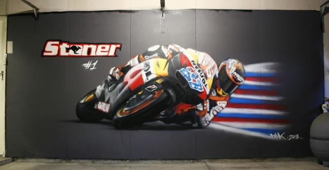 Casey Stoner Elbow Down by meak-one