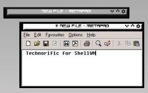 Technorific for ShellWM by groovecircus
