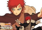 Narutimate Hero - Gaara by agra19
