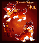T-Killa the Incendio Patron soosh - refsheet by StanHoneyThief