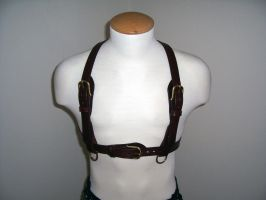 Steampunk Harness 1 by GrandGothicLeather