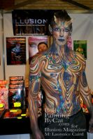 Wood satyr IMATS bodypaint end by Bodypaintingbycatdot