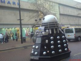 Dalek car by MoonlightLupine