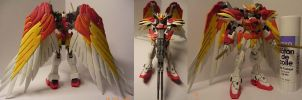 HG 1/144 Wing Zero Custom by tornarchon
