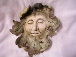 Carved face stock 1 by rustymermaid-stock