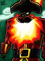 LeChuck painting by theEyZmaster