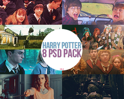 HARRY POTTER 8 PSD by pandaisia