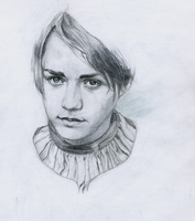 Game of Thrones Arya Stark by KuroRime
