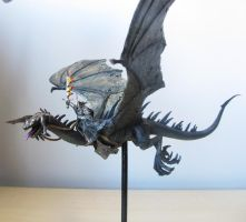 Witch-king of Angmar on fell beast by shadowtrooper4
