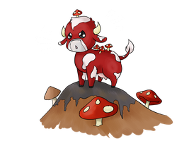 Minecraft Unsung Heros: Mooshroom Power by BleachedKitten