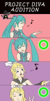 Project Diva Audition by AlexArtwork
