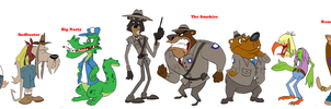 Convoy Rough Character Lineup by Harmonikah