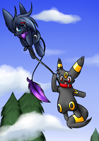 take you for a fly by BlackMew13
