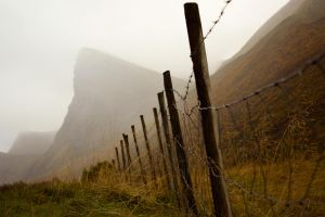 Fences and mountains. by Platon47