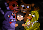 Playing Five Night At Freddy's by Lil-lamb90
