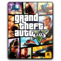Grand Theft Auto V Icon by dylonji