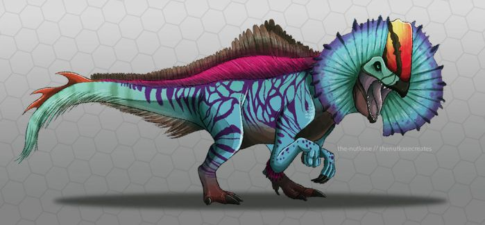 Erliphosaurus by The-Nutkase