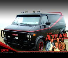 The A-Team Stars by RedStarMedia